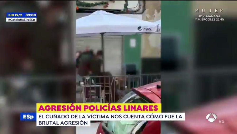 Así se produjo la agresión de dos policías a un hombre y su hija que ha convertido Linares en un polvorín
