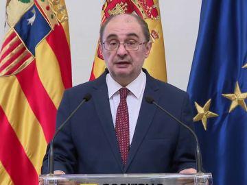 Javier Lambán, presidente de Aragón, anuncia que padece cáncer de colon