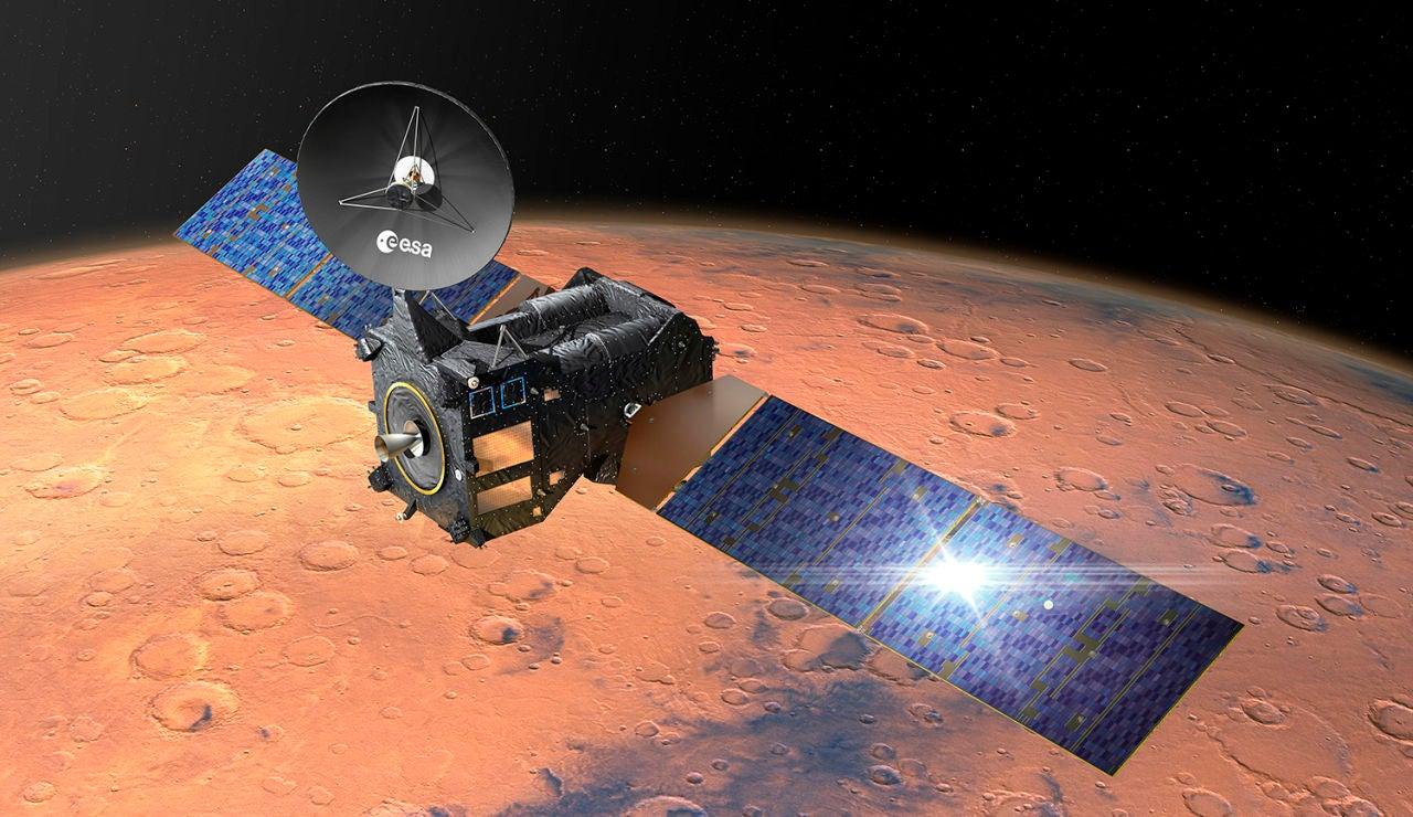 La mision ExoMars descubre un nuevo gas en Marte y rastrea como pierde agua