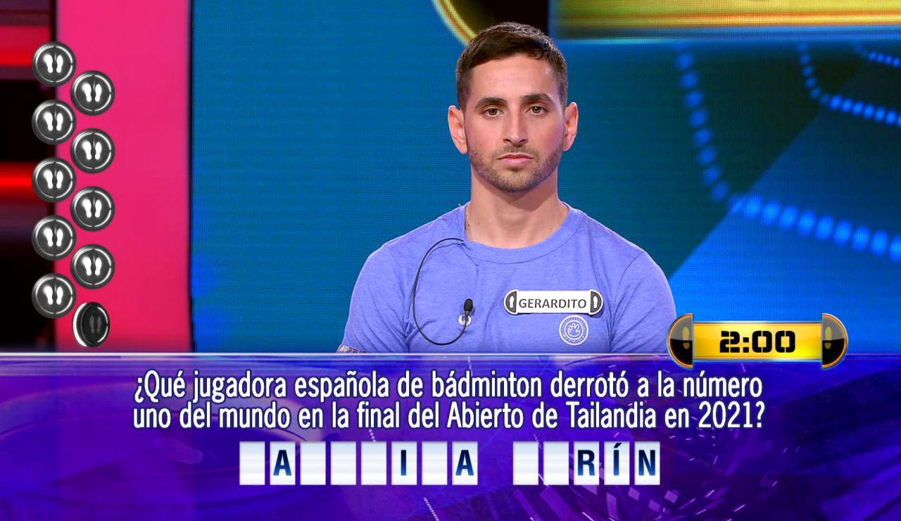 Gerardito se enfrenta a la nueva ronda final