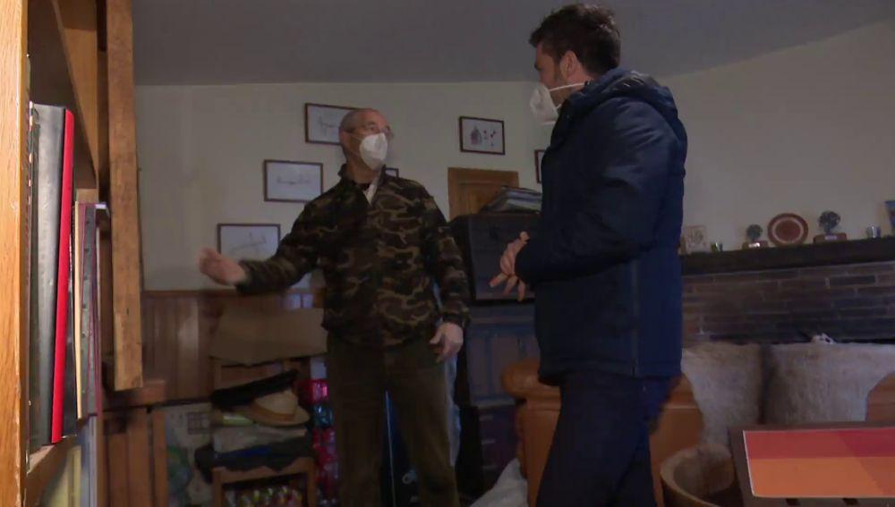 Luis, el médico que ha construido un búnker en Madrid para sobrevivir a cualquier catástrofe