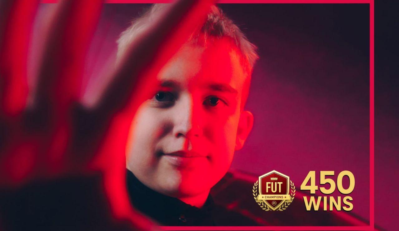 Anders Vejrgang pierde su primer partido en FIFA 21 tras 535 victorias consecutivas