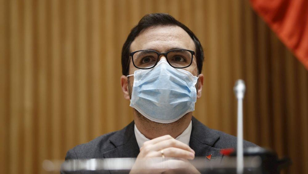El ministro de Consumo, Alberto Garzón, en una imagen de archivo