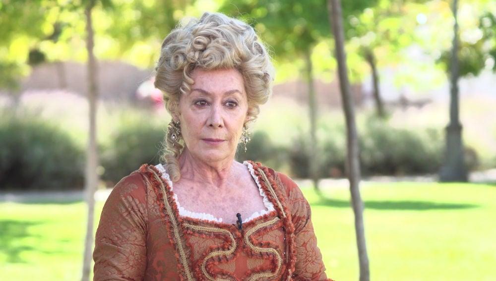 """Fiorella Faltoyano: """"Doña Mercedes es la actual duquesa de Castamar, le encanta organizar festejos"""""""