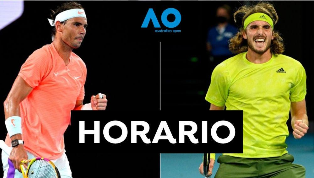 Rafa Nadal - Stefano Tsitsipas: Horario y dónde ver el partido de tenis del Open de Australia 2021 en directo
