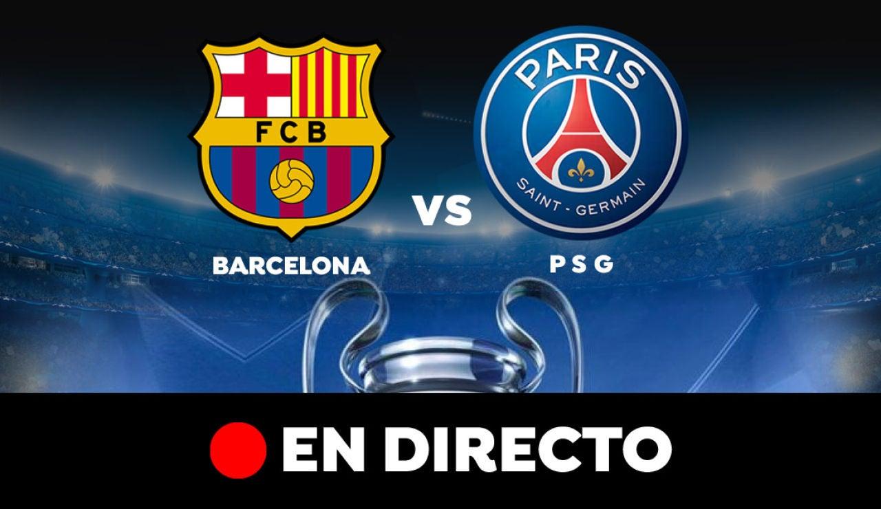 Barcelona - PSG: Resultado y goles del partido de hoy, en directo | Champions League