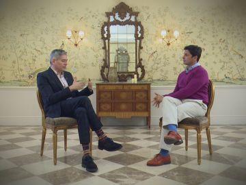 Boris Izaguirre charla con Fran Rivera