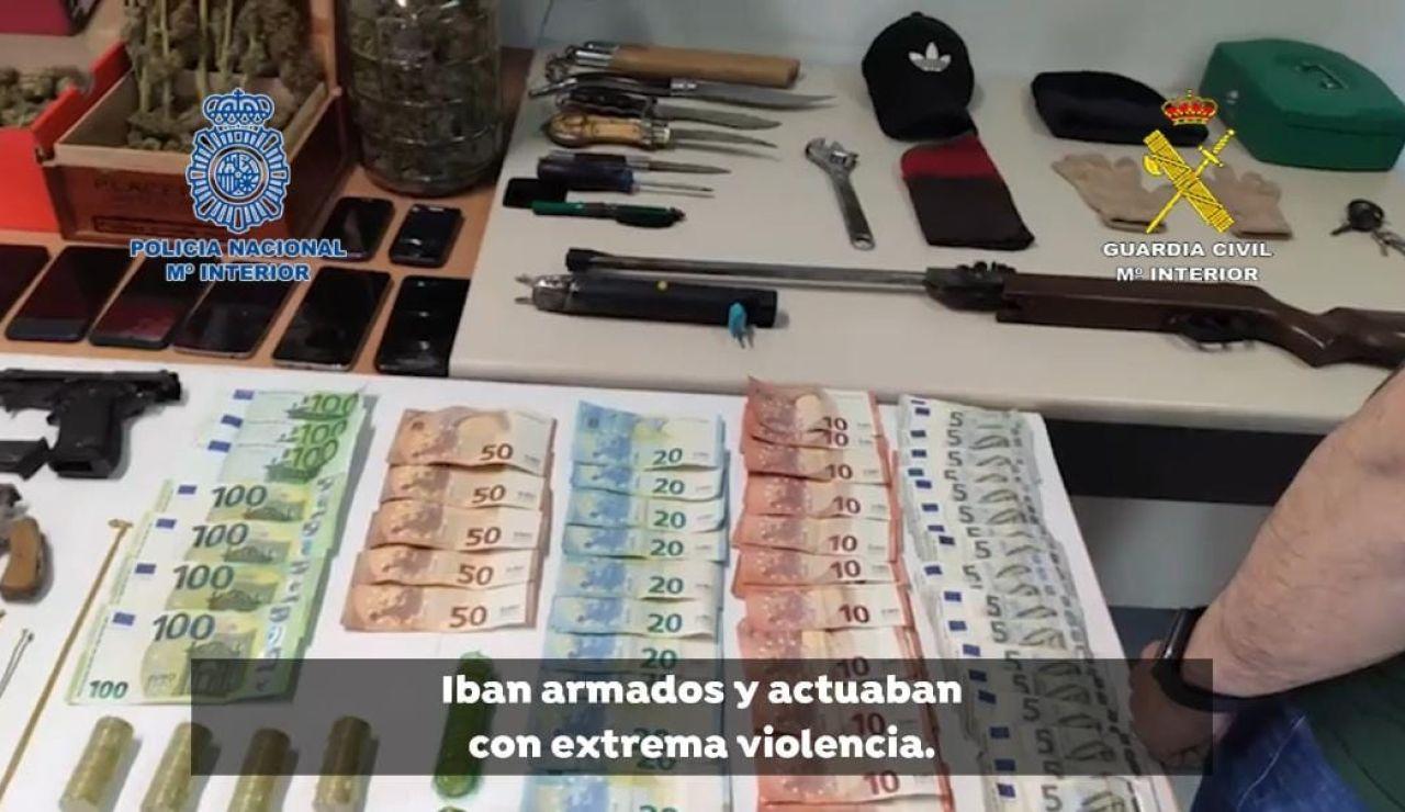 La policía detiene a 5 personas por atracos en viviendas en los que empleaban violencia e intimidación en la Vega Baja