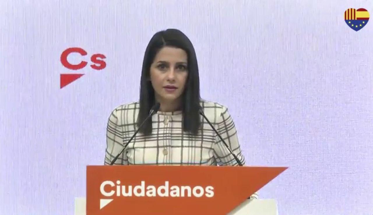 """Inés Arrimadas cree que los malos resultados de Ciudadanos en las elecciones catalanas se deben a que """"no han sabido ilusionar"""""""