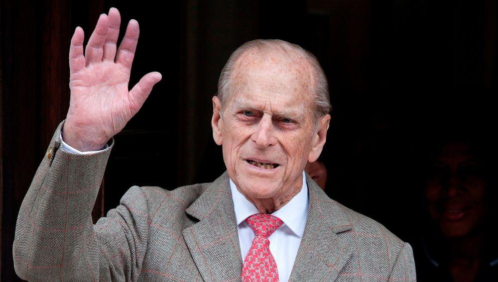 El príncipe de Edimburgo, en 2012