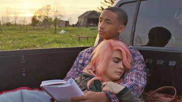 Jaden Smith y Cara Delevingne en 'Life in a year'