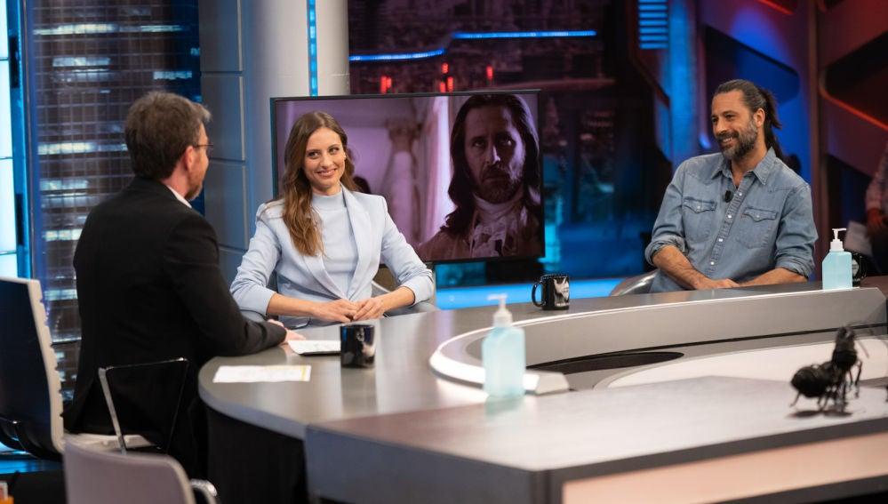 ¿Sexo o comida? La atrevida respuesta de Hugo Silva y Michelle Jenner en 'El Hormiguero 3.0'