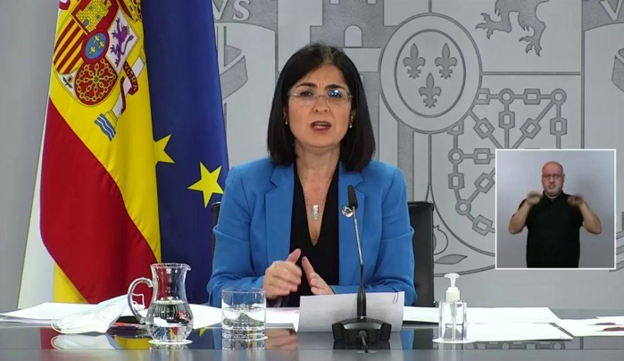 Carolina Darias anuncia cuarentena obligatoria para los viajeros que lleguen de Brasil o Sudáfrica
