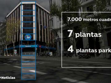 ¿Dónde se va a instalar el PP tras abandonar la sede de Génova?