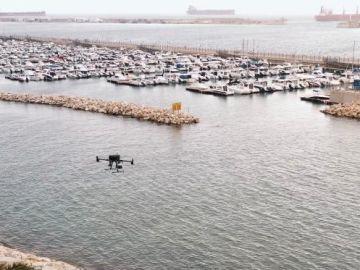 Drones para usar en el mar