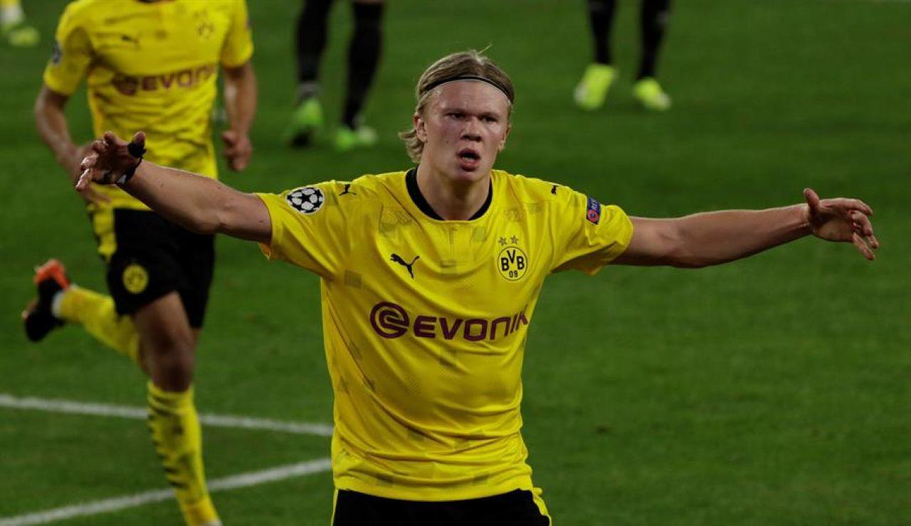 Haaland asalta el Pizjuán y deja al Sevilla con pie y el Sevilla tendrá que remontar en Dortmund