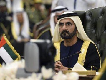 Imagen de archivo del emir de Dubái