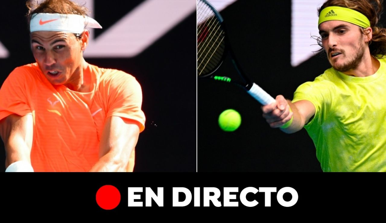 Rafa Nadal - Stefanos Tsitsipas, en directo: Open de Australia