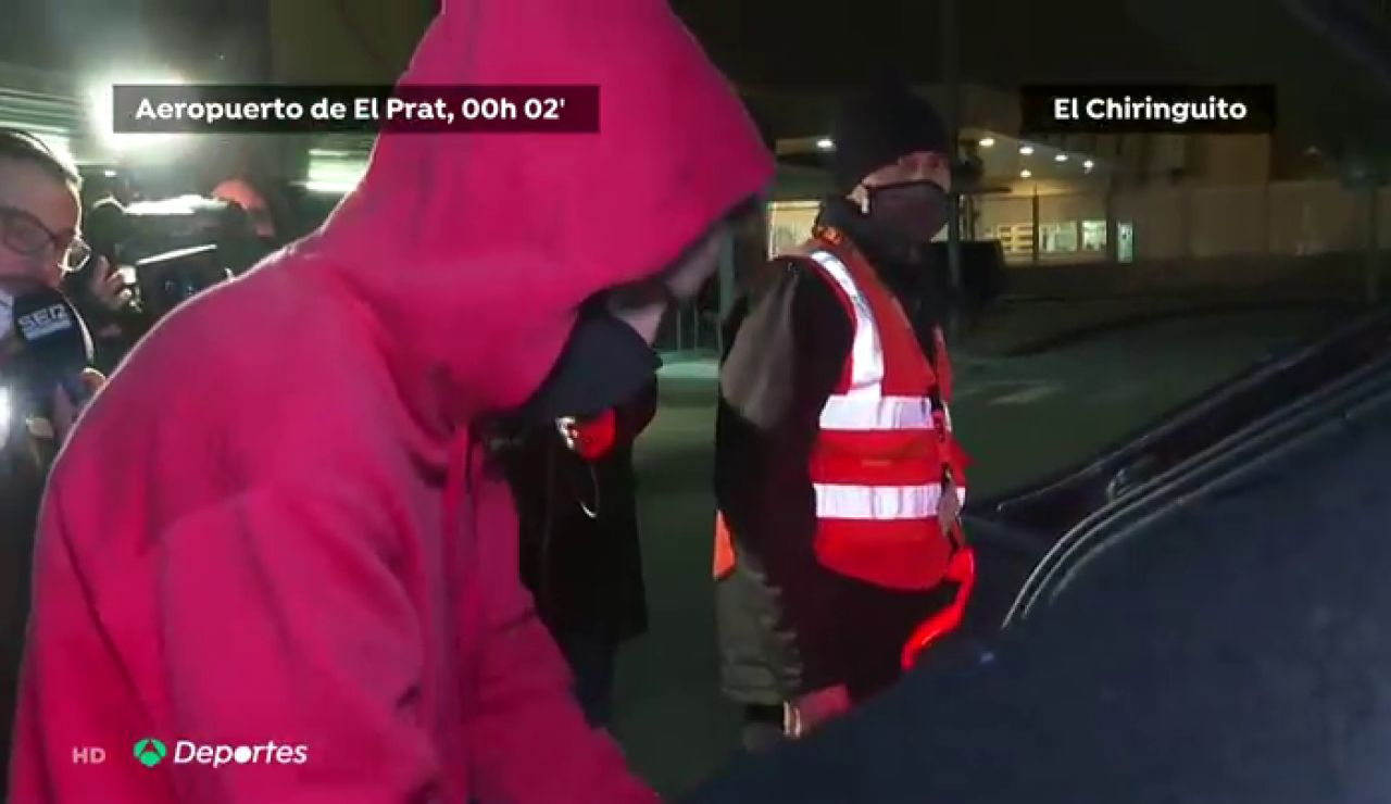 Griezmann, cazado en el aeropuerto saltándose el confinamiento y el toque de queda tras la goleada del PSG al Barça
