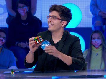 "Jorge Luengo deja sin palabras a Roberto Leal con un cubo de Rubik: ""Me da mucho coraje"""