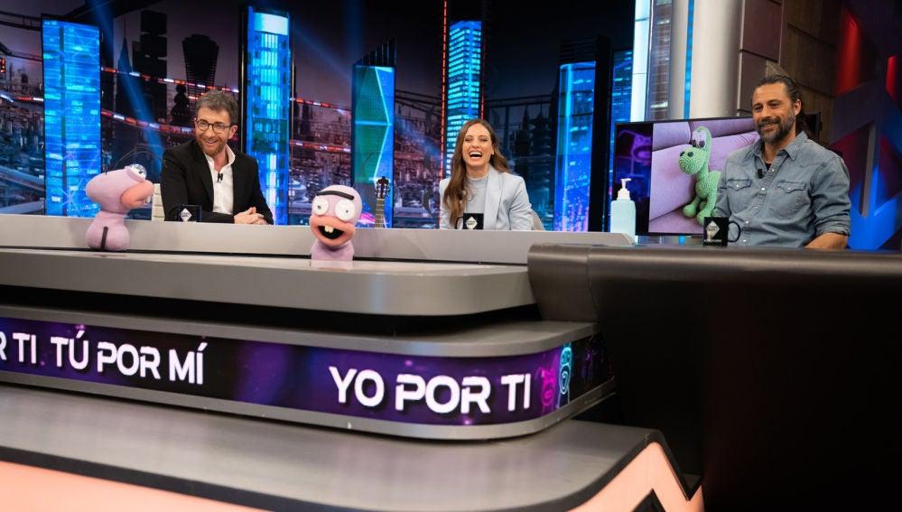 Michelle Jenner y Hugo Silva demuestran su total compatibilidad con el divertido test de Trancas y Barrancas