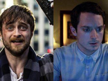 Daniel Radcliffe en 'Guns Akimbo' y Elijah Wood en 'Open Windows'