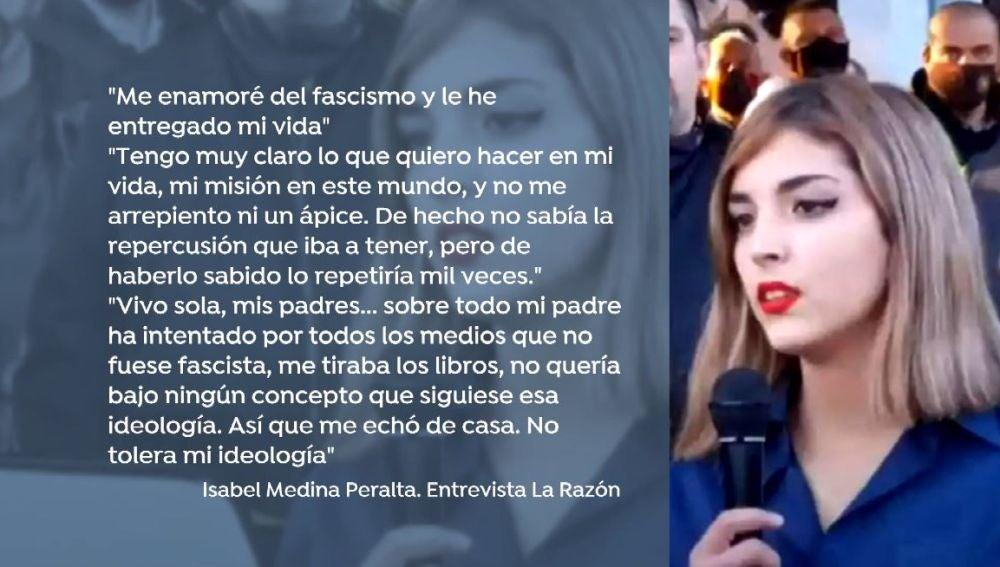 Isabel Medina.