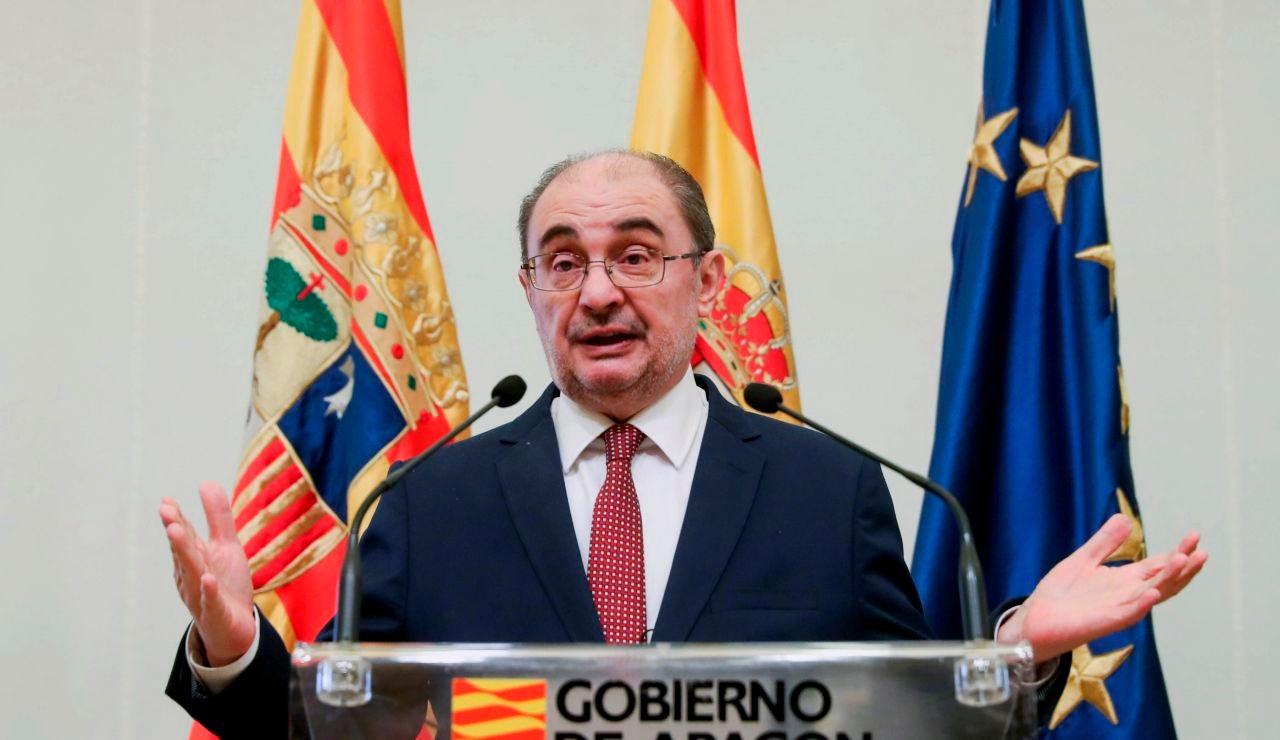 El presidente de Aragón, el socialista Javier Lambán