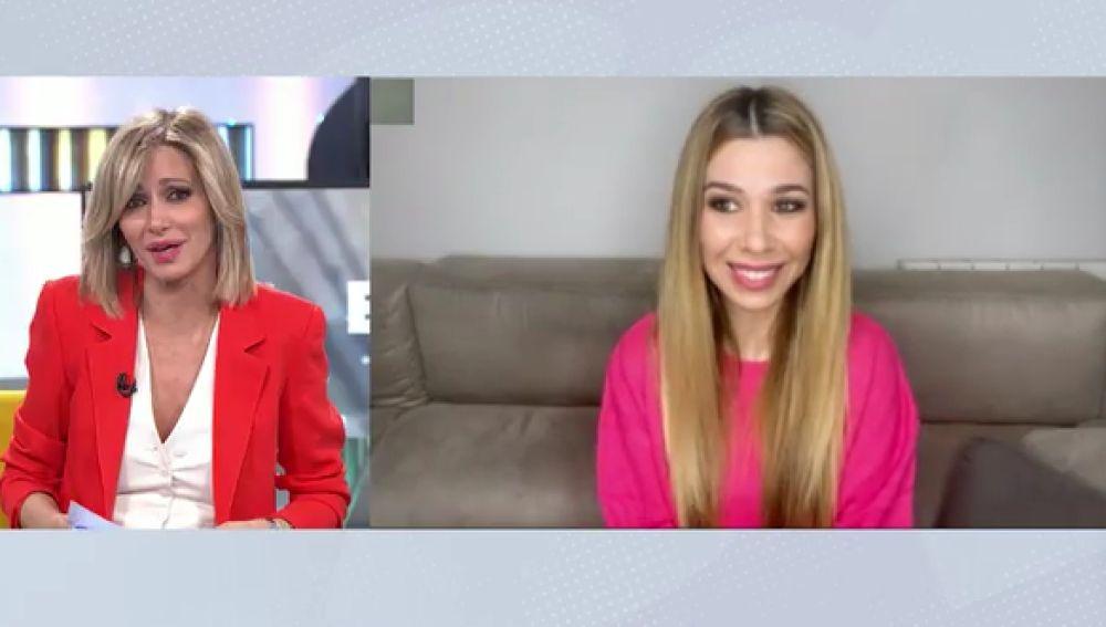 La cantante Natalia tras dar positivo en coronavirus