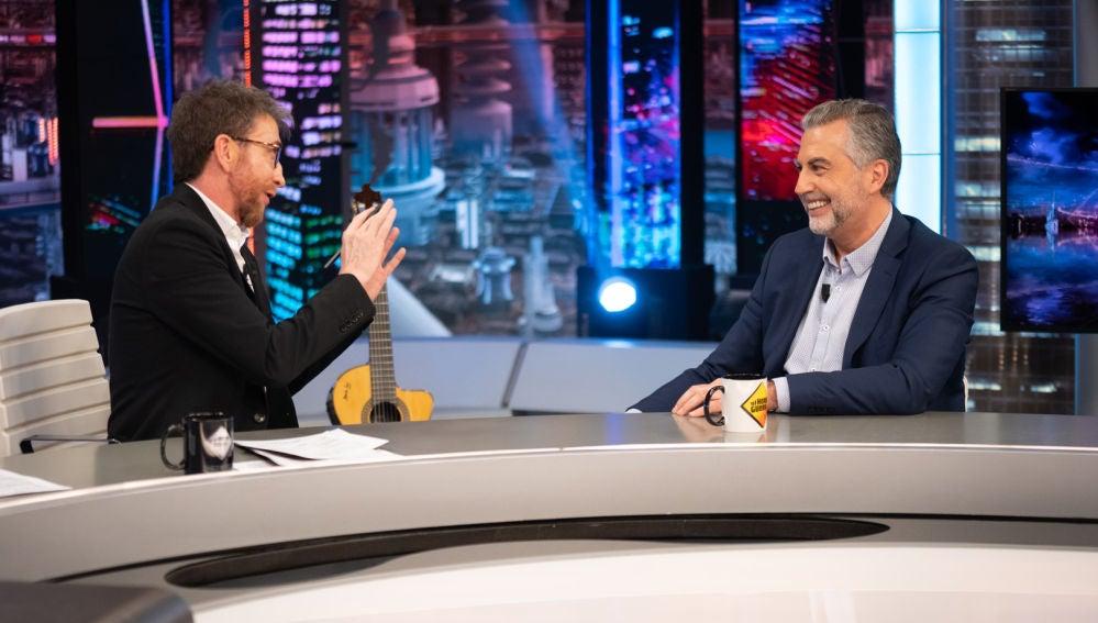 """Pablo Motos, sobre Pedro Sánchez: """"Mentiría si dijera que no me ha invitado a un café"""""""
