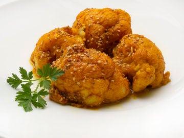 La receta de Karlos Arguiñano: coliflor con cúrcuma y sésamo