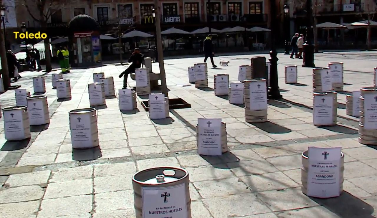 Protesta hostelería Toledo
