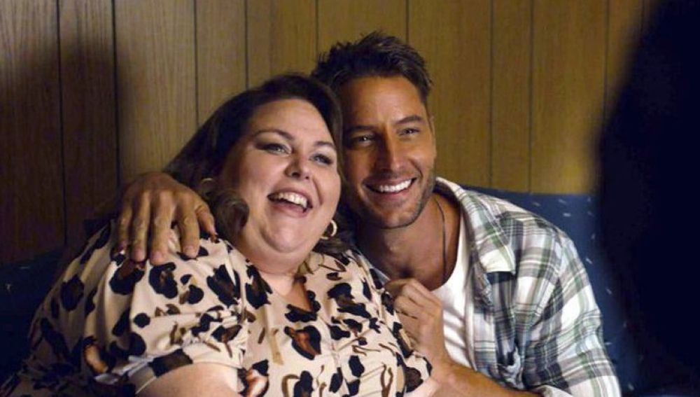 Chrissy Metz y Justin Harley en 'This Is Us'