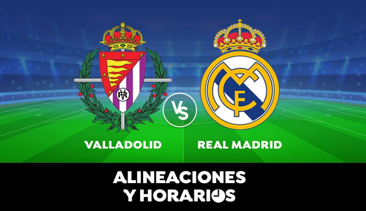 Valladolid - Real Madrid: Horario, alineaciones y dónde ver el partido de Liga Santander en directo