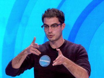 Silla, rosco y 'Pasapalabra': así ha improvisado Alejandro un sorprendente rap