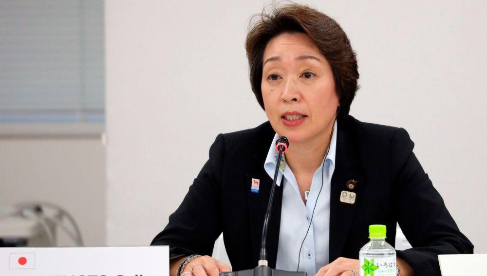 La presidenta de los Juegos Olímpicos de Tokio, Seiko Hashimoto