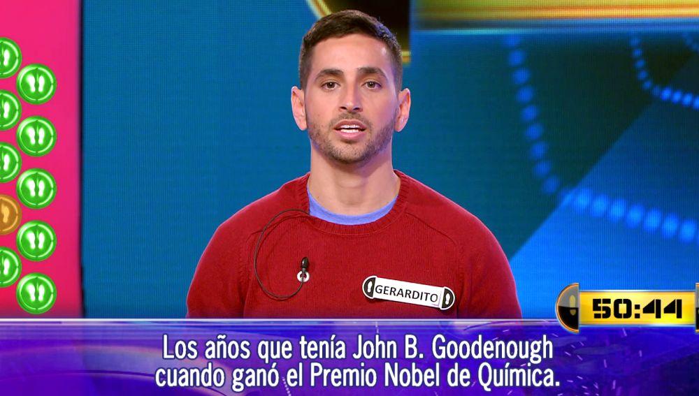 ¡22.000 euros en juego! Gerardito, contra su mala racha en el Duelo Final de '¡Ahora caigo!'