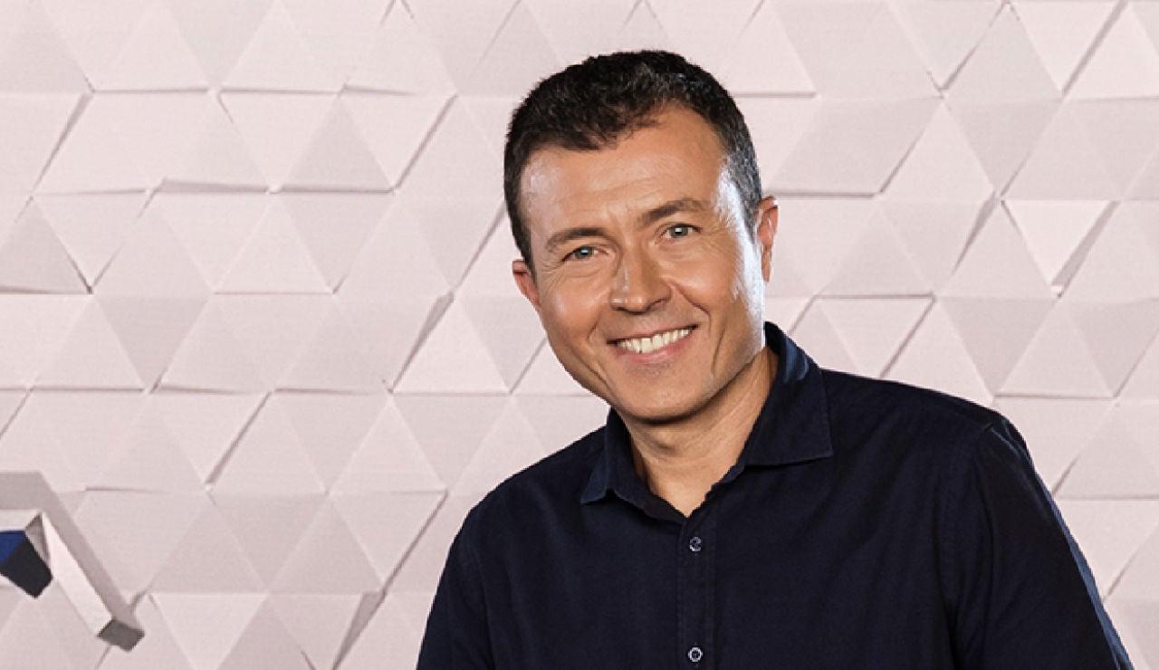 Manu Sánchez, presentador de Antena 3 Noticias