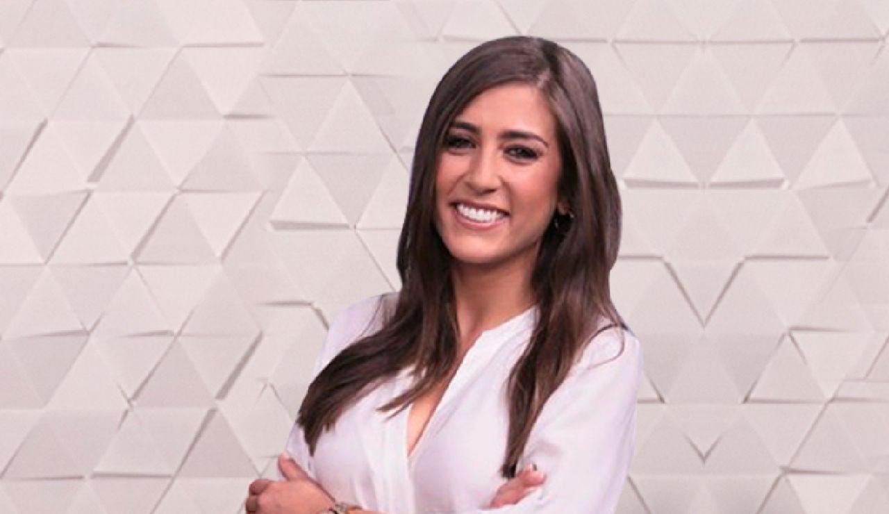 Alba Dueñas, presentadora de Antena 3 Noticias