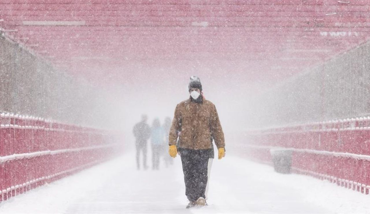 Las nevadas dejan sin agua potable a 12 millones de personas en Texas (Estados Unidos)