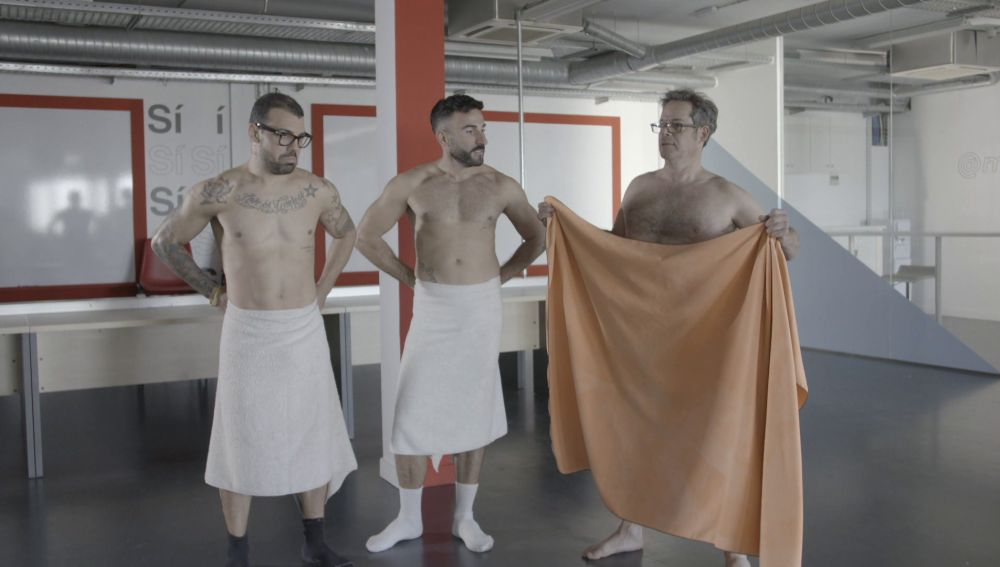 "Jorge Sanz: ""Cuanto antes te desnudes antes se te pasa la vergüenza"""
