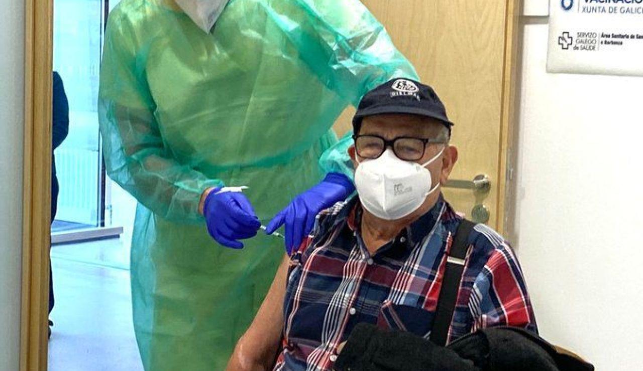 Arranca el programa piloto de vacunación a mayores de 80 años en Galicia