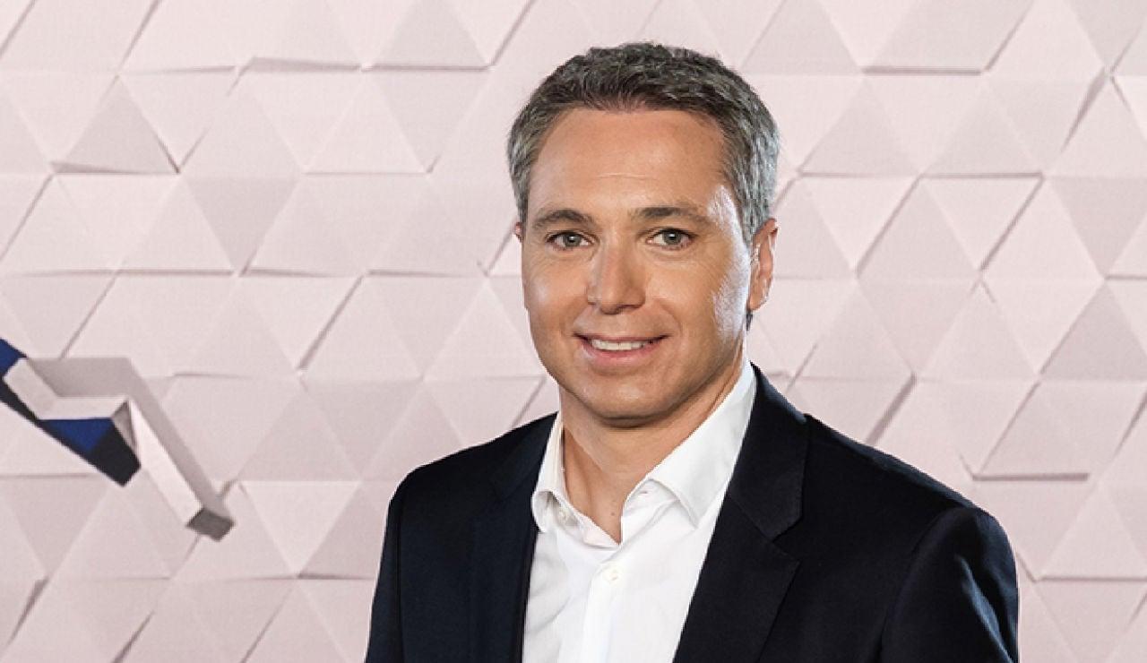 Vicente Vallés, presentador de Antena 3 Noticias
