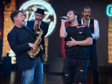 David Bustamante y Carlos Latre