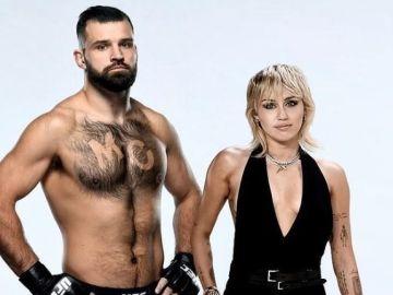 Julián Márquez y Miley Cyrus