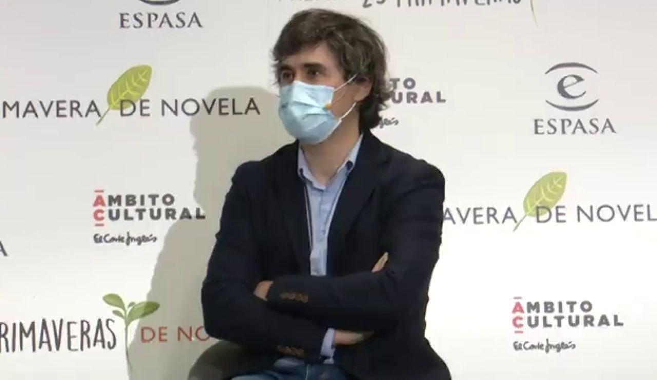 'Los ingratos', de Pedro Simón, Premio Primavera de Novela