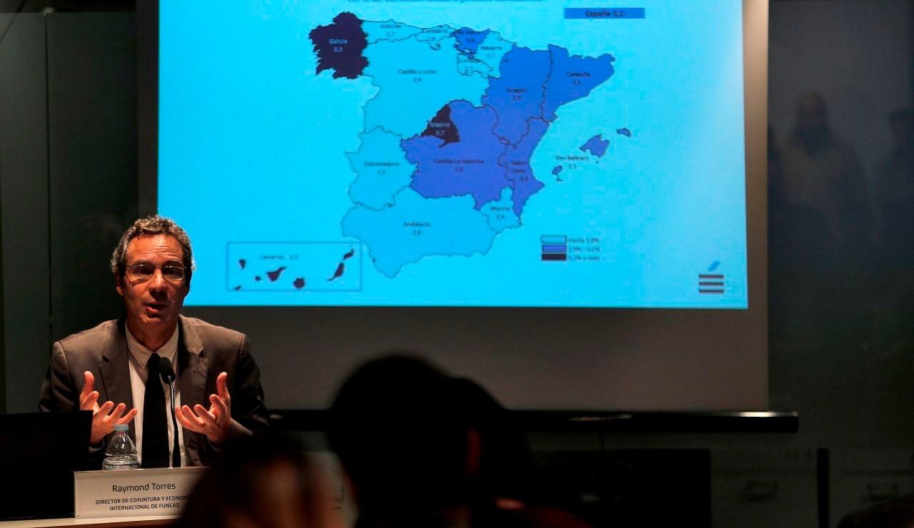 Raymond Torres, director de Coyuntura Economía Internacional de Funcas