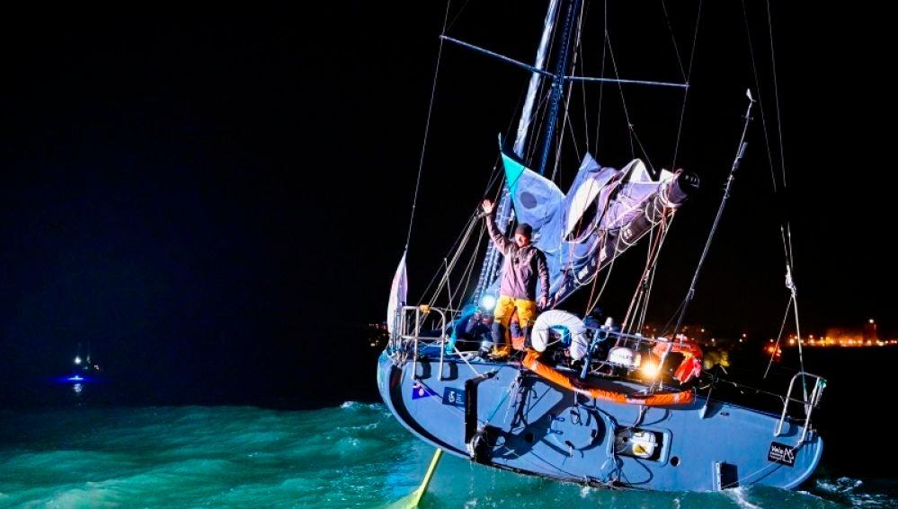 El navegante español Didac Costa