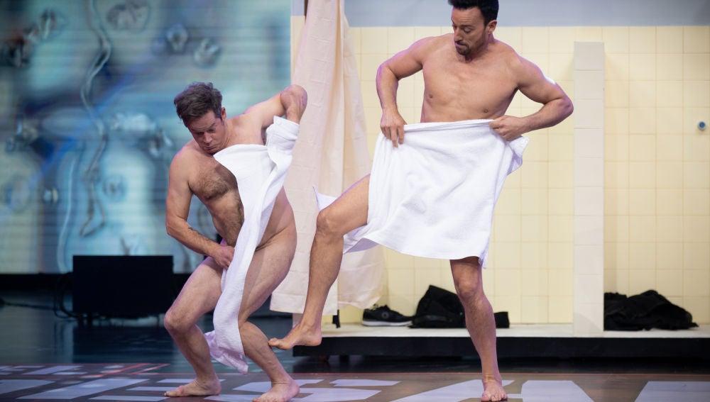 Duelo al desnudo de Pablo Puyol y Jorge Sanz
