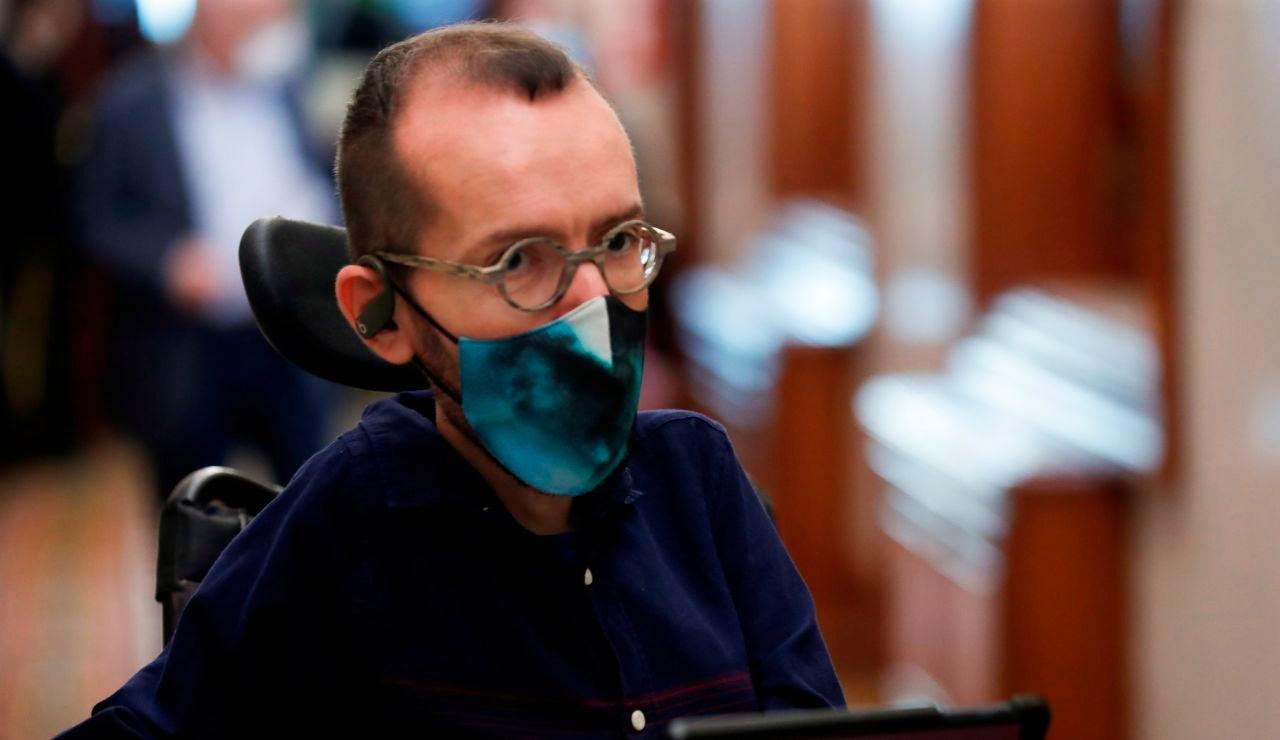 El portavoz de Unidas Podemos, Pablo Echenique